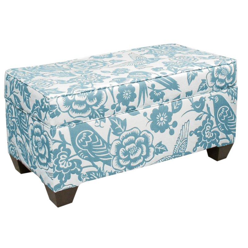 Fabric Storage Bench  sc 1 st  Wayfair & Skyline Furniture Fabric Storage Bench u0026 Reviews | Wayfair