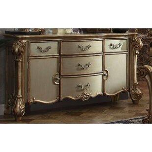 Swing Wooden 5 Drawer Combo Dresser