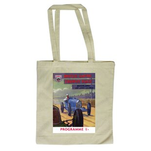 British Empire Trophy Race, Brooklands, Saturday June 23 1934 Tote Bag By East Urban Home