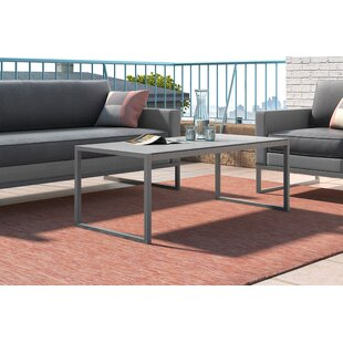 Affordable Tropez Metal Coffee Table By Elle Decor