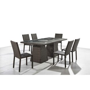 Sisk 7 Piece Dining Set