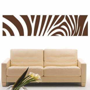 Zebra Print Wall Decal  sc 1 st  Wayfair & Brown Zebra Print Chair   Wayfair