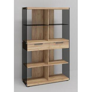Grey Glass Storage Cabinet By Jahnke