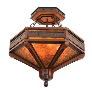 Aspen 6-Light Semi Flush Mount by Kalco