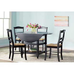 Paisley 5 Piece Dining Set Bay Isle Home