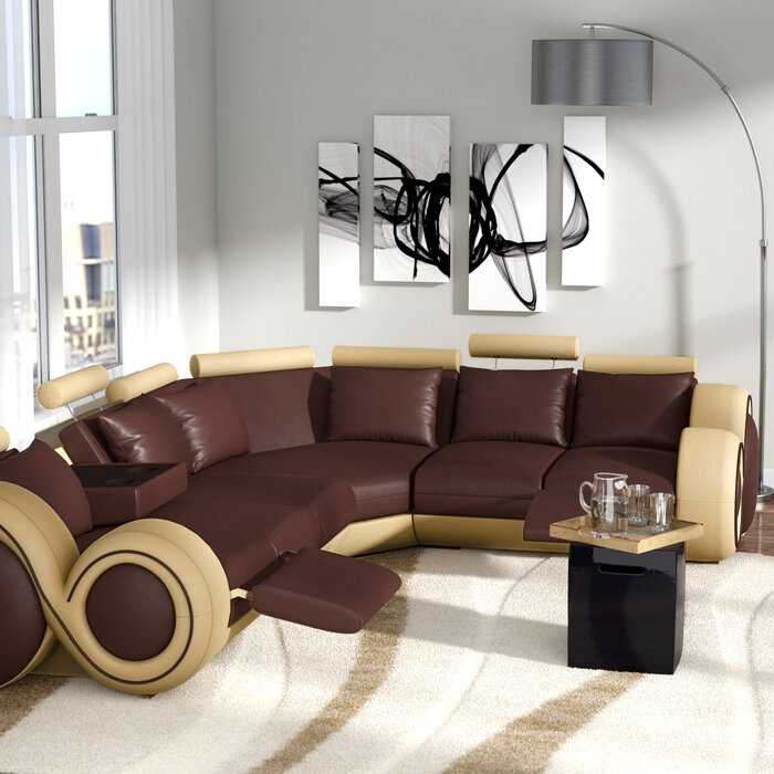 Faviola Right Hand Facing Reclining Sectional