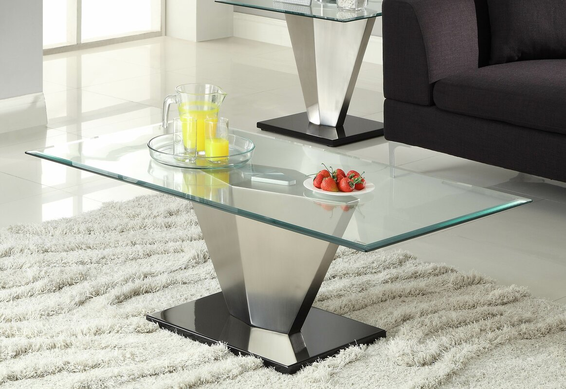 Woodhaven Hill Silverstone Coffee Table & Reviews | Wayfair