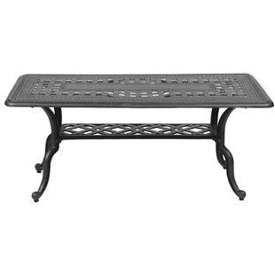 Colstrope Aluminum Coffee Table