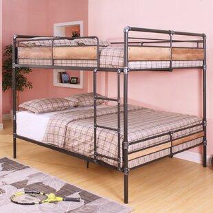 full over queen bunk bed wayfair. Black Bedroom Furniture Sets. Home Design Ideas