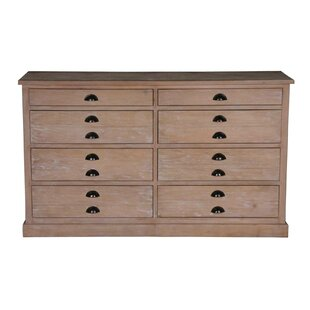 August Grove Boston 8 Drawer Double Dresser