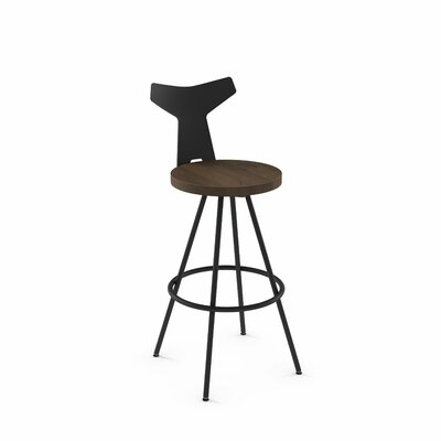 Superb Avondale 26 Swivel Bar Stool Brayden Studio Finish Blackbrown Gmtry Best Dining Table And Chair Ideas Images Gmtryco