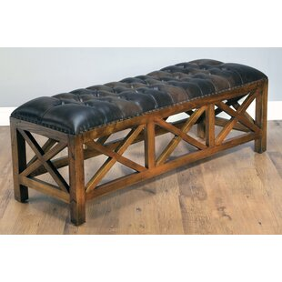 Anne X Wood Bench by Loon Peak Spacial Price
