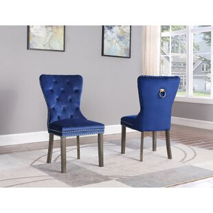 Affordable Thame Upholstered Dining Chair (Set of 2) by Everly Quinn Reviews (2019) & Buyer's Guide