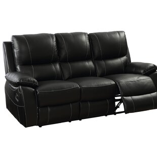 Maker Top Grain Reclining Sofa