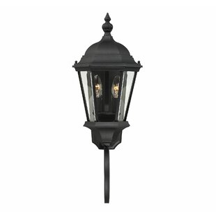 Top Reviews Randel 2-Light Outdoor Sconce By Charlton Home