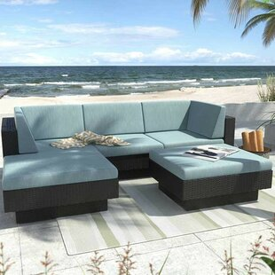 Chretien 5 Piece Sectional Set with Cushions