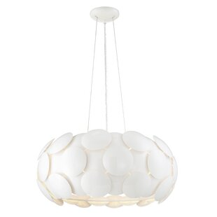 Brayden Studio Bianco 7-Light Pendant