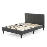 Shalini Tufted Upholstered Low Profile Platform Bed by ZINUS-White-Label