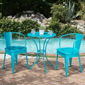 Greendale Iron 3 Piece Bistro Set