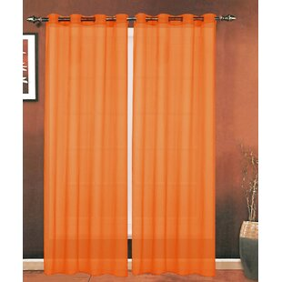 Turquoise And Orange Curtains