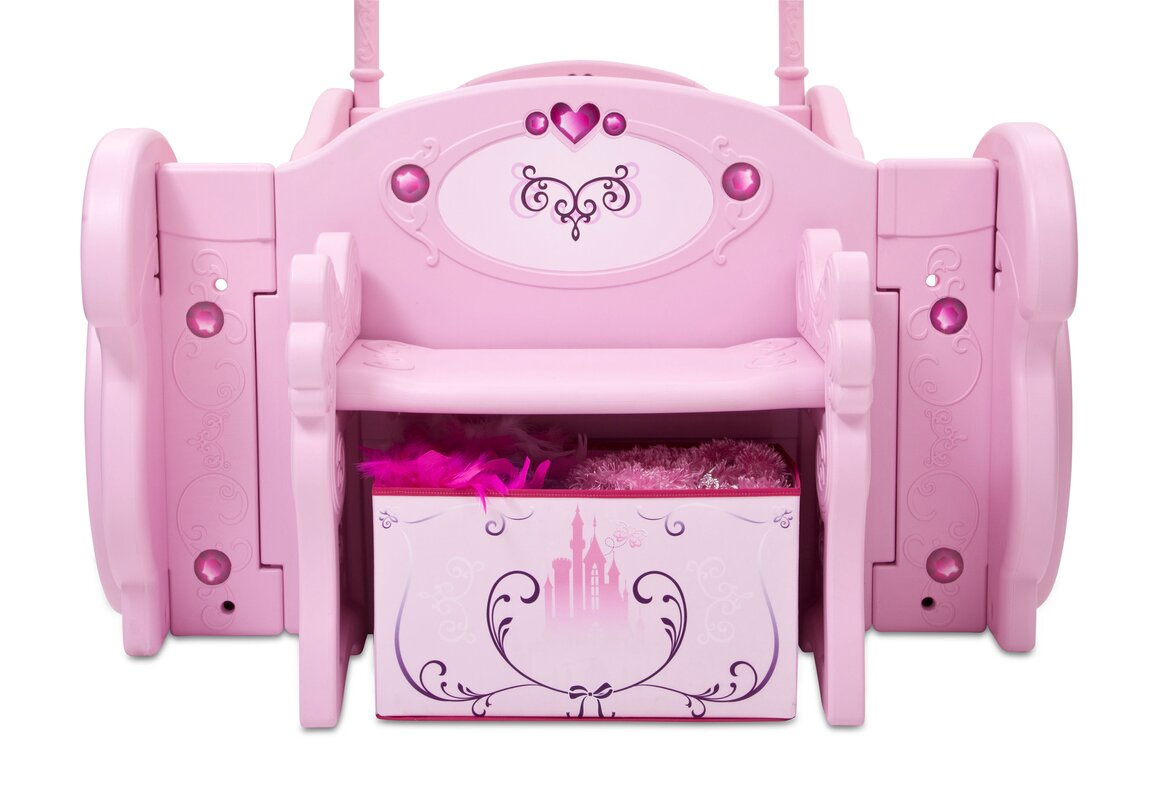 ... Toddler Bedroom In A Box Delta Children Disney Princess Carriage Twin  Convertible Toddler ...