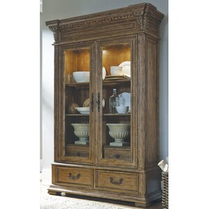 Athens Lighted China Cabinet by Astoria G..