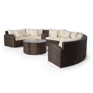 Woody 6 Seater Rattan Conversation Set By Sol 72 Outdoor