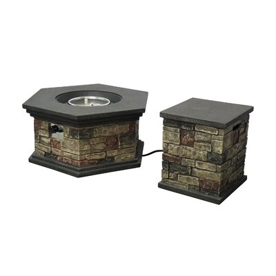 Fire Pit Hidden Fuel Tank Outdoor Fireplaces Amp Fire Pits