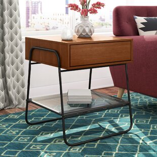 Delphos End Table with Storage