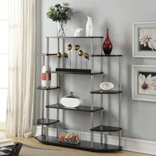 Donavan Wall Etagere Bookcase by Zipcode Design