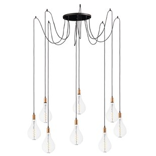 Edgardo 8-Light Cluster Pendant by Williston Forge