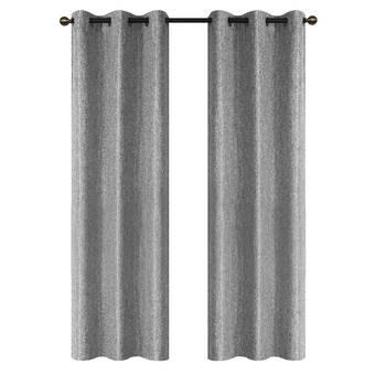 Ebern Designs Lacie Mae Extra Wide Blackout Thermal Grommet Panel Pair Wayfair