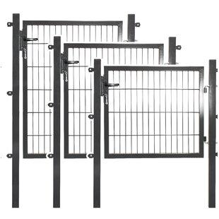 3' X 2' (1m X 0.75m) Metal Gate By Peddy Shield