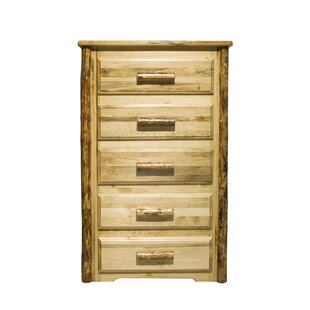 Loon Peak Glacier Country 5 Drawer Chest