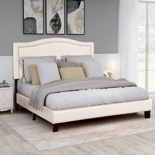 Renville Queen Upholstered Standard Bed by Red Barrel Studio