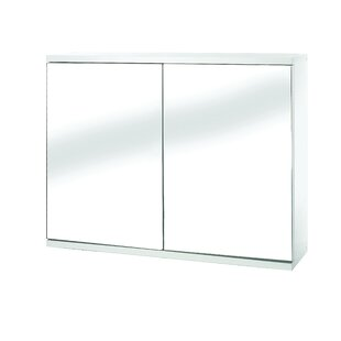 Great choice Mangan 23.6 x 17.7 Surface Mount Frameless Medicine Cabinet with 1 Adjustable Shelf By Orren Ellis