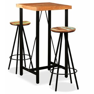 Adrienne 3 Piece Pub Table Set By Williston Forge