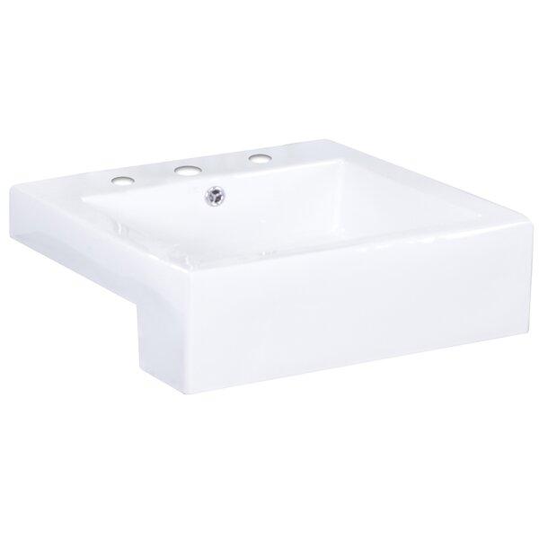 american imaginations xena farmhouse rectangular vessel bathroom