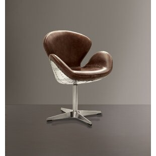 Lindauer Swivel Armchair by 17 Stories