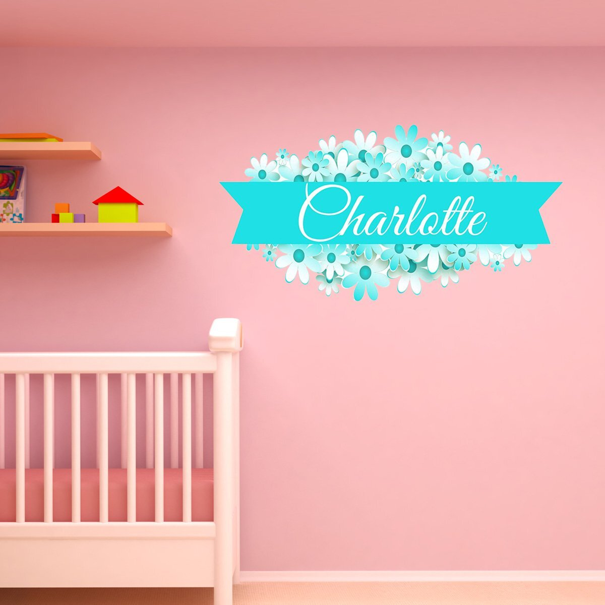 Peel Stick Plastic Personalized Kids Wall Art You Ll Love In 2020
