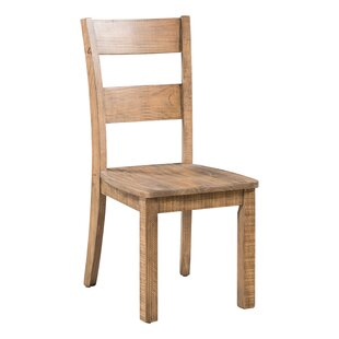 Chitwood Solid Wood Dining Chair (Set Of 2) By Union Rustic