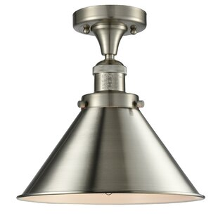 Stonecrest 1-Light Semi Flush ..