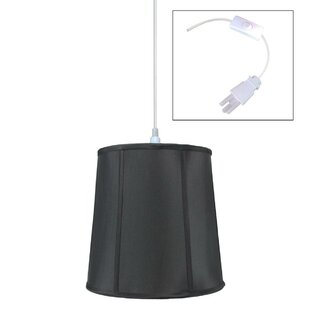 Charlton Home Burkes 1-Light Cone Pendant
