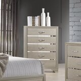 Mcafee 5 Drawer Chest by Rosdorf Park