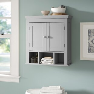 Chorley 224 W x 24 H Wall Mounted Cabinet by Three Posts