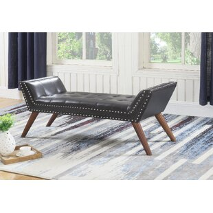 Cantwell Faux Leather Bench by Brayden Studio