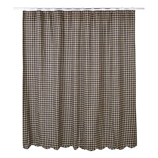 Affordable Price Heidi Scalloped Cotton Shower Curtain By Laurel Foundry Modern Farmhouse