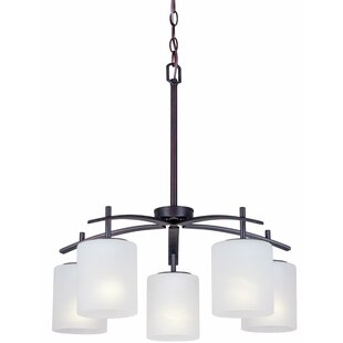 Mcraney 5-Light Shaded Chandelier by Ebern Designs