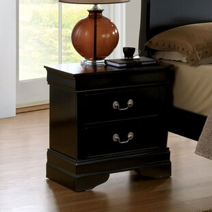 Reviews Alvarez 2 Drawer Nightstand by Darby Home Co