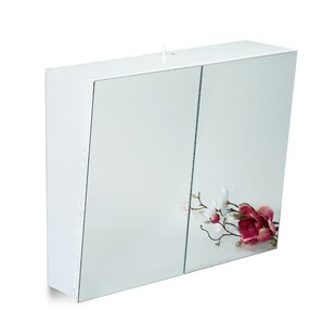 60 X 50cm Mirrored Cabinet By Symple Stuff